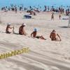 """Джемете пансионат """"Солнечный"""" Джемете """"Солнечный"""" пляж 8 августа 2011 год."""