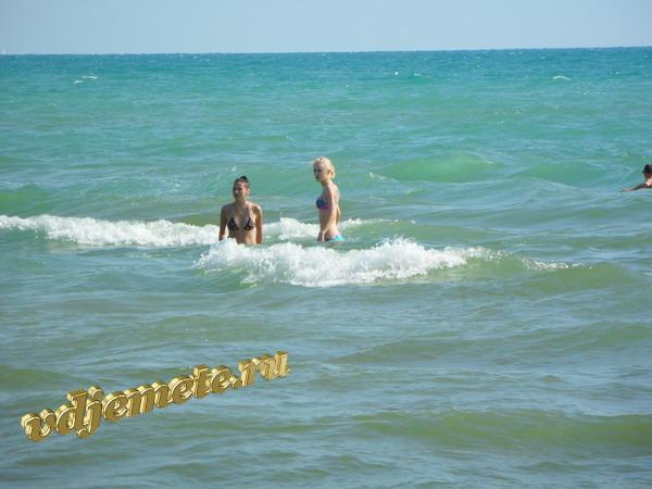 "Джемете пансионат ""Солнечный"" Пляж пансионата ""Солнечный"" 16 июня 2011 год."